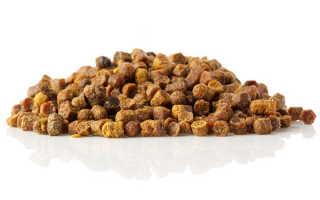 Как выглядит качественная пчелиная перга