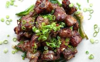 Рецепт нежирной свинины в медовом соусе