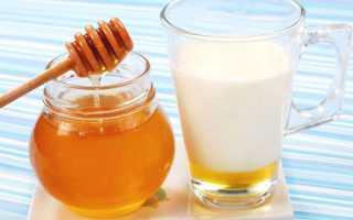 Молоко от кашля с медом – рецепты