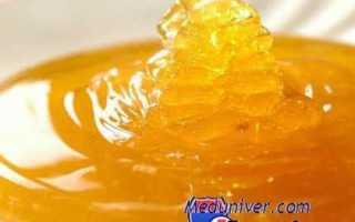 Лечение медом, народные рецепты